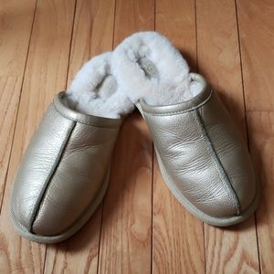 UGG Gold Slippers